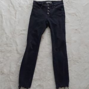 Madewell 4 button jeans
